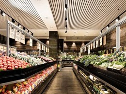 Rustic atmosphere enhances grocery shopping experience