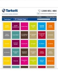 New flooring specification hub developed for Tarkett products