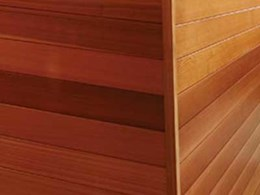 Timeless timber walls with Western Red Cedar