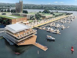 Conybeare Morrison's Western Sydney rowing club approved