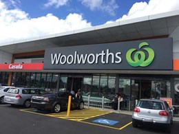 KRGS secures new Woolworths store in Casula, NSW with steel, aluminium and polycarbonate shutters