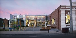 Bairnsdale Library by NOWarchitecture