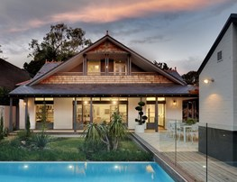 Restore and transform: Peter Willett Associates balance history and modern for Sydney cottage