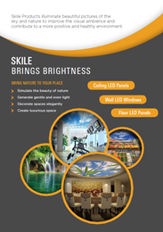 Skile brings brightness and nature indoors
