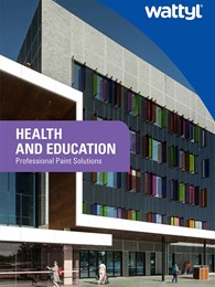 Health and Education: Professional paint solutions