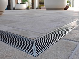Stormtech grated drain systems only choice for architects at luxury Pacific Bondi development