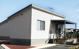 Mitten Vinyl cladding keeps costs low and profits high for granny flats