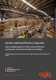 Quality Lighting Efficiency Upgrades: The importance of using the right products