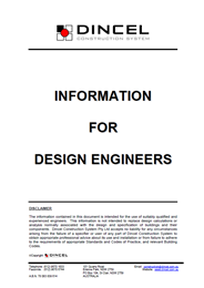 Information for Design Engineers