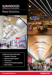 Supawood Retail Solutions  brochure