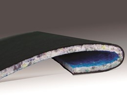 Silentstep Underlay footfall noise reduction in office