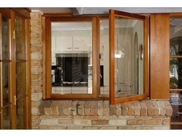 Casement Windows - Red Cedar  Casement Windows