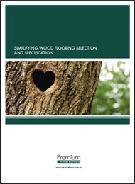 Simplify Wood Flooring Selection and Specification [white paper]