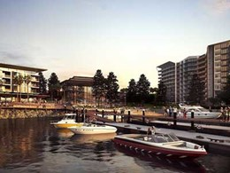Fleetwood collaborates with Frasers on public furniture suite for waterfront precinct