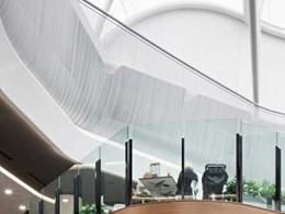 Custom fabric atrium allows natural light into Toowong Village Shopping Centre