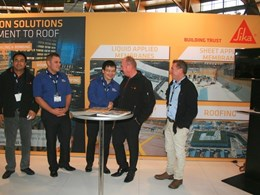 Sika sponsors Master Builder NSW waterproofing courses