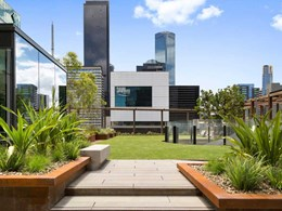 Anston's paving aims for the sky at Melbourne's elevated park