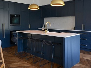 Smartstone Athena Stars In Modern Melbourne Kitchen Architecture And Design