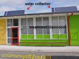 Award-winning solar heating project features SolarVenti air heater panels