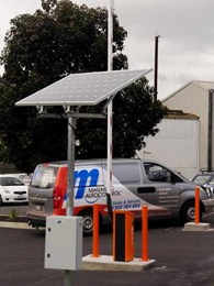 Case Study: Magnetic installs solar powered boom gate at healthcare facility carpark