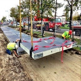 Netherlands rolls out world's first solar bike path