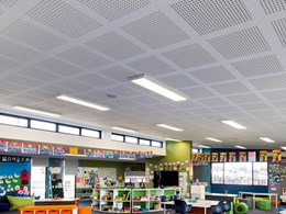 Gyptone perforated plasterboard helps deliver quality classrooms