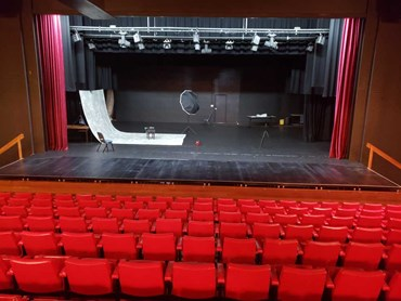 Custom QUATTRO extension stage at Gympie Heritage Theatre
