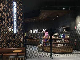 New Starbucks store in Melbourne gets ATDC barricade protection
