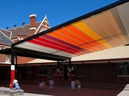 Aalta Screen Systems bringing stripes back into fashion for awnings