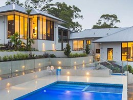 Toowoomba dwelling transformed into resort style home with views using huge glazing panels