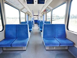 Altro Transflor safety flooring in Stuttgart's trams keeps passengers safe