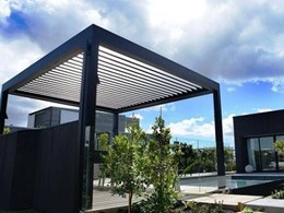 Opening roofs enhancing ventilation in outdoor rooms