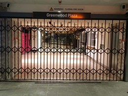 Premium grade commercial security grilles installed for North Sydney Railway Station