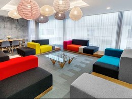 Bolon Silence vinyl flooring brings Perth apartment to life with 3D effect