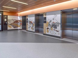 Tarkett vinyl flooring meets healthcare goals at SA's Royal Adelaide Hospital