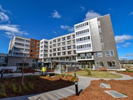 Louvre windows provide healthy ventilation at luxury retirement living development