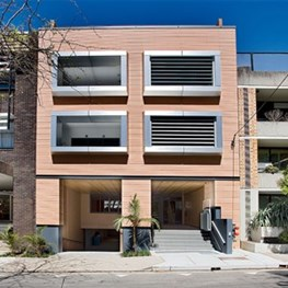 13-15 Myrtle Street, North Sydney by Nicholas Dunn + Associates