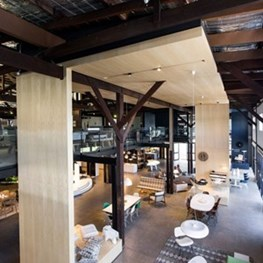WWII Sydney Woolshed sees Woods Bagot transformation