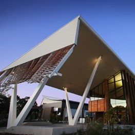 Sustainable Buildings Research Centre (SBRC) by Cox Architecture designed to research itself