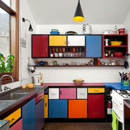 Colour House by Ande Bunbury Architects