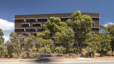 New Western Australia (WA) student housing by Allen Jack+Cottier is two-faced