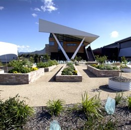 Innovation Campus Sustainable Buildings Research Centre by Taylor Brammer Landscape Architects