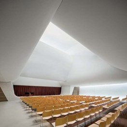 Natural light floods Sydney church by FJMT to create cloud like atmosphere