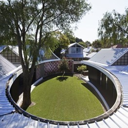 Perth's secret garden: the Subiaco Oval Courtyard by Luigi Rosselli Architects