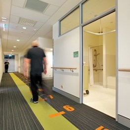 Prepare to be floored: Swan Hill Rehabilitation Centre by dwp|suters