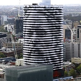 ARM Architecture remembers Indigenous leader with 85-metre façade portrait