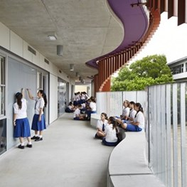 Joyful educational architecture is what it's all about for ThomsonAdsett