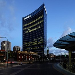 The detail in the glass: Glass Eclipse, a Parramatta landmark