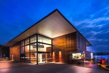 Uts Haberfield Rowing Club By Hassell Architecture And