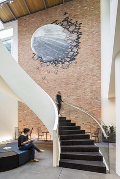 Far from conventional: Warner Music UK HQ by Woods Bagot as cool as you think it is